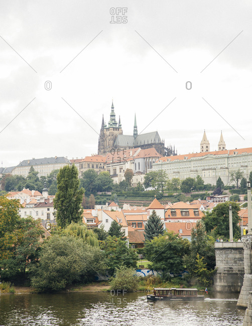 View of the Prague Castle, Prague, Czech Republic