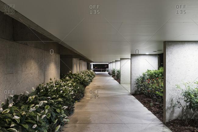 Brisbane, Queensland, Australia - December 3, 2016: Queensland Art Gallery