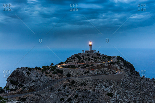 Cap de Formentor Lighthouse on the Spanish island of Majorca