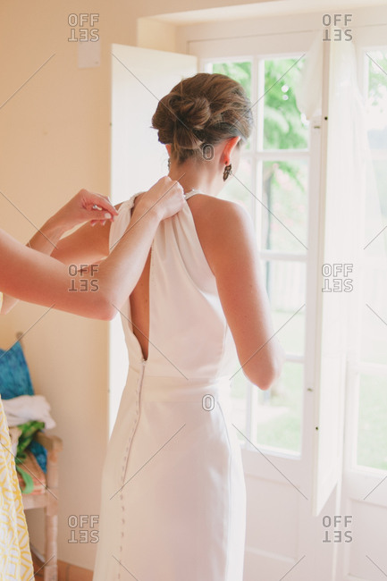 Bride dresses for ceremony