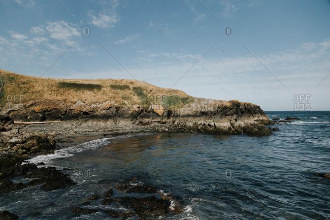 San Juan Island coastal scenic