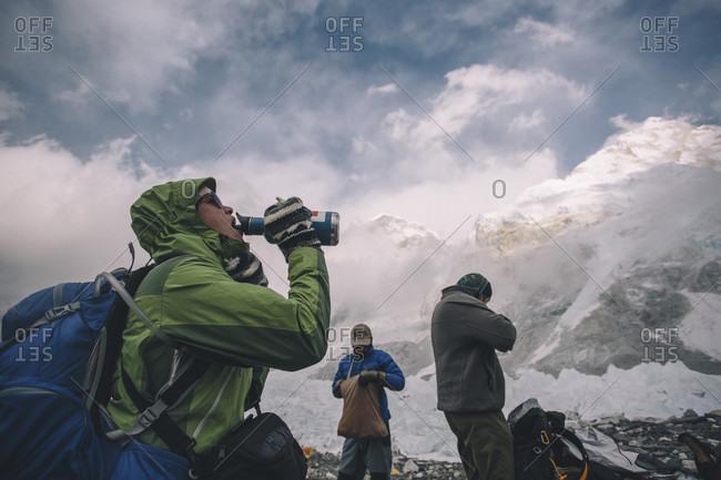 April 11, 2016: Scenes from Nepal's Everest Base Camp Trek from Kathmandu.