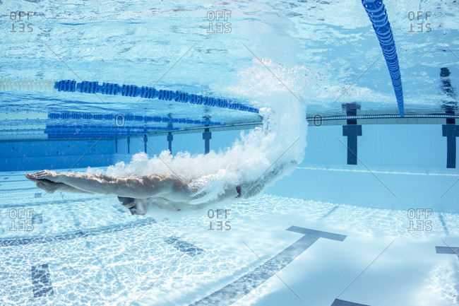 June 1, 2016: Olympic breaststroke swimming champion Adam Peaty during a pre Rio training session in the pool