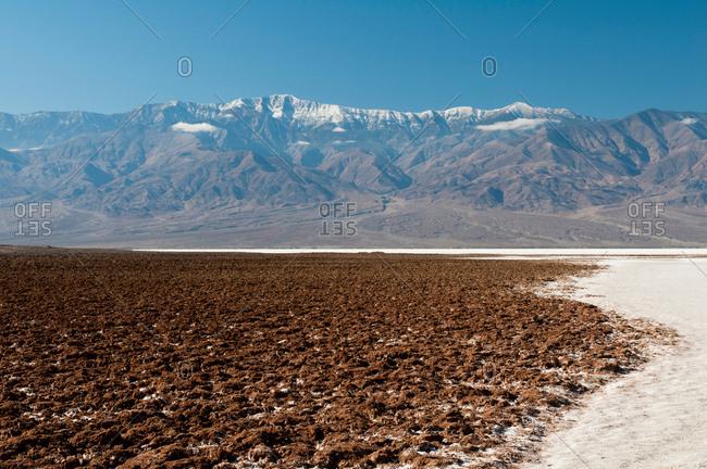 Badwater Basin, Death Valley, California, USA