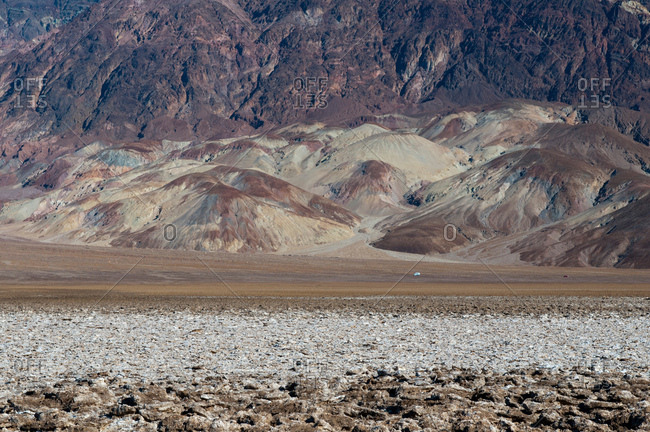 Devil's Golf Course, Badwater Basin, Death Valley National Park, California, USA