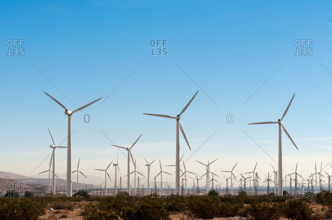 Wind Farm, Palm Springs, California, USA