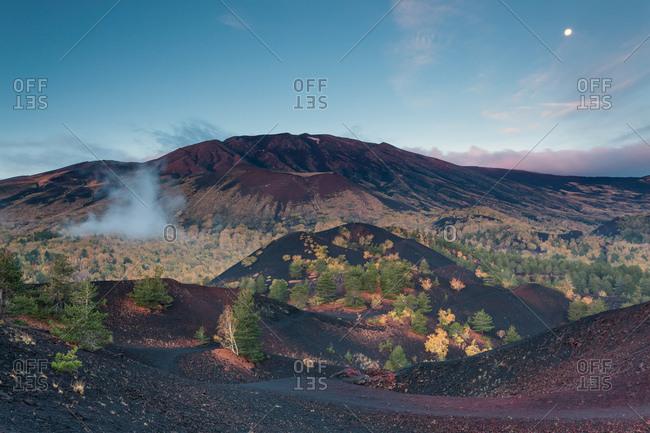 Sartorius Craters of Etna, Milo, Sicily, Italy