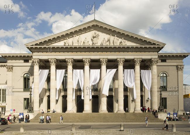 July 5, 2016: Germany- Bavaria- Munich- National Theatre
