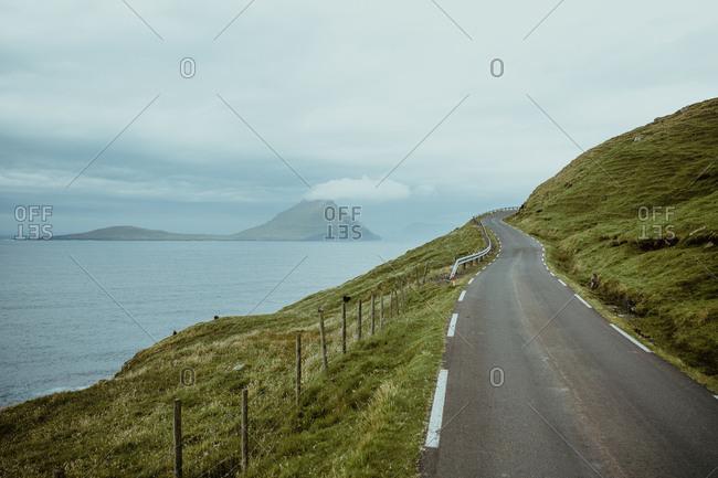 Landscape of rural road