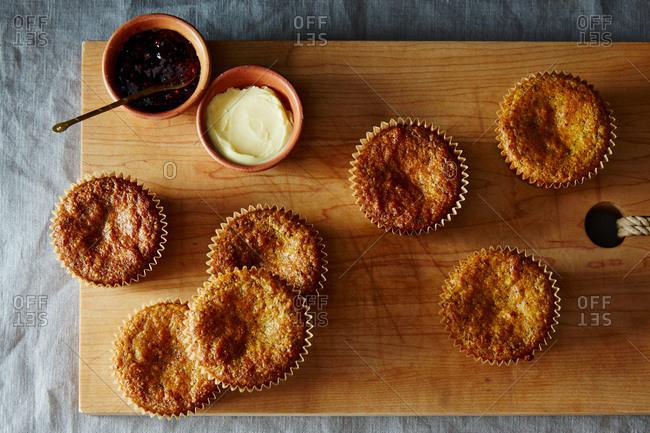 Gluten free orange poppy seed muffins