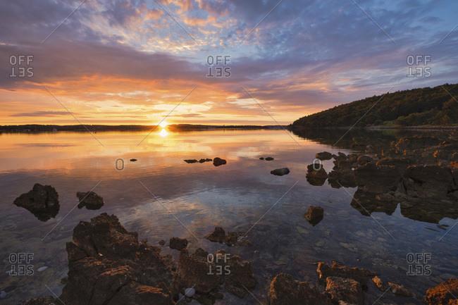 Croatia- Istria- Kamenjak Natural Park- Sunrise on the Adriatic Sea