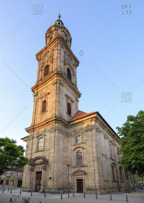 Erlangen, Germany - June 1, 2017: Neustaedter Kirche