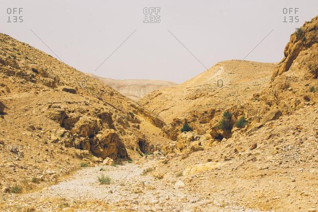 Desert hills in West Bank, Israel (Palestine)
