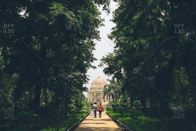 New Delhi, India - June 1, 2017: Lodi Gardens