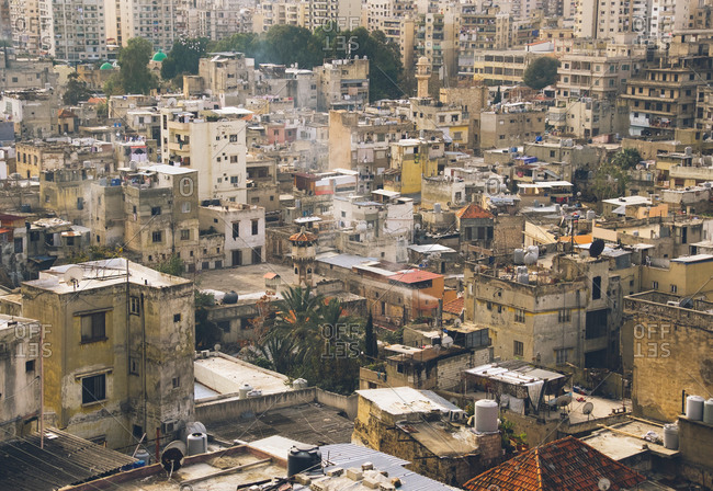 Buildings in Tripoli, Lebanon
