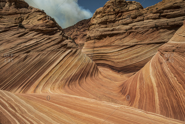 Idyllic view of patterns on Marble Canyon