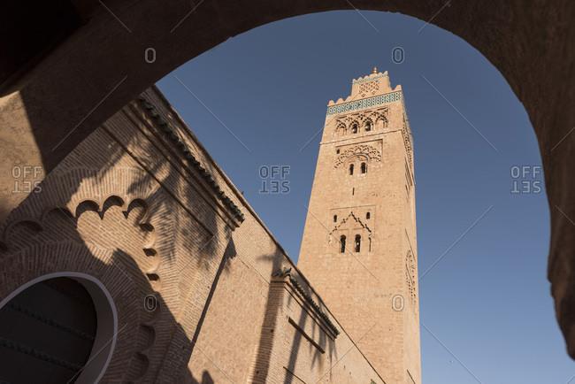 Koutoubia Mosque, Medina, Marrakesh, Morocco