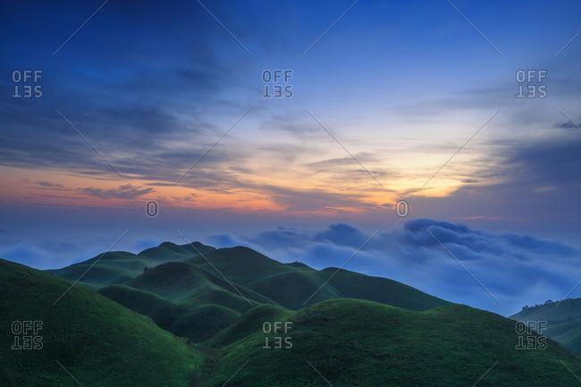 The cloud meadow