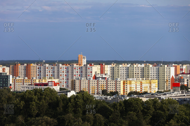 Slovakia- Bratislava- apartment towers