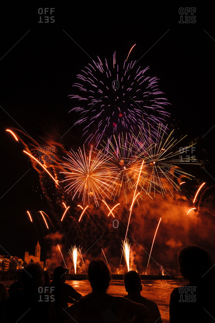 Firework party from the Offset Collection