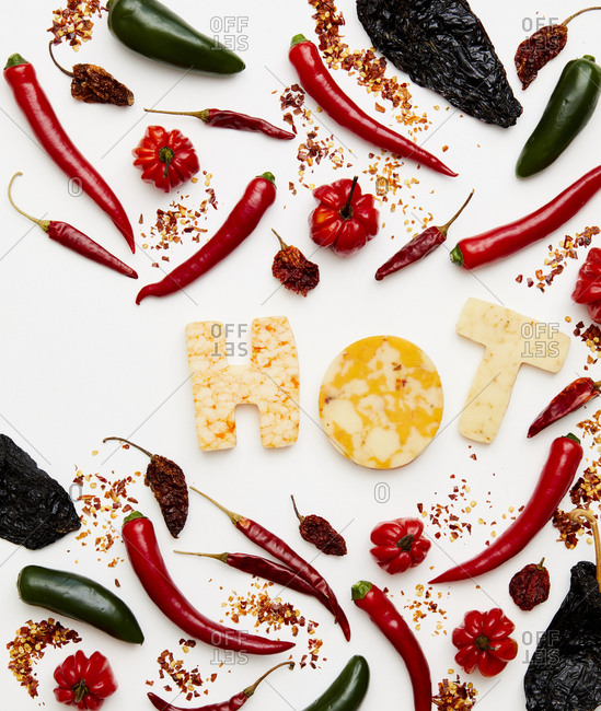 Hot and spicy peppers