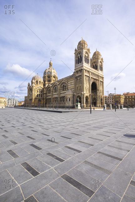 Cathedrale de la Major, Marseille Cathedral, Marseille, Department Bouches du Rh�ne, Region Provence Alpes C�te d'Azur, France, Europe