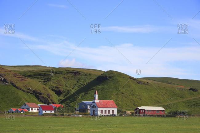Iceland, Sudurland.  Litli-Hvammur