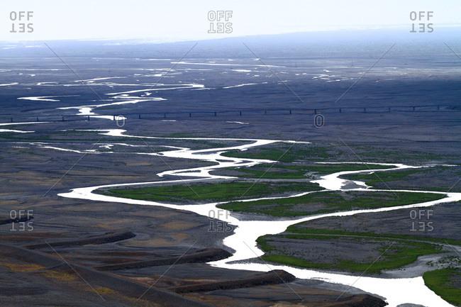 Iceland, Sudurland. Skaftafel national park.
