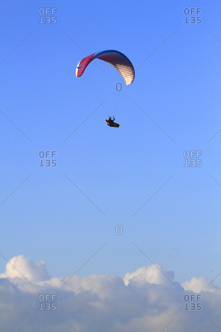 France, paragliding from the Offset Collection