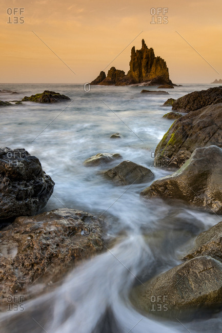 Spain, Canary Islands, Santa Cruz, Benijo beach