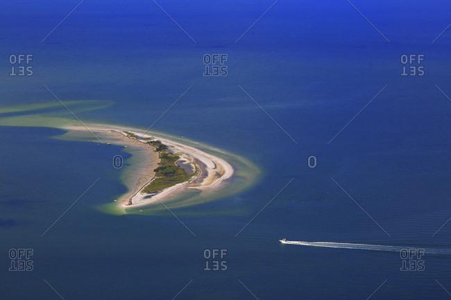 USA, Florida. Honeymoon Island et Three Roocker Island. Saint Joseph Sound