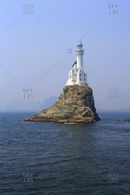 South Korea. Busan. Oryukdo Islands