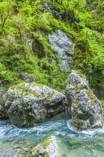 France, Pyrenees, Basque Country, Haute-Soule, Gorges de Kakuetta