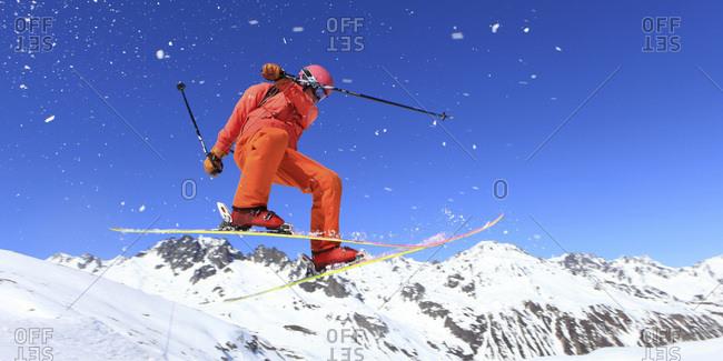 March 16, 2017: Winter sports, ski. Jump
