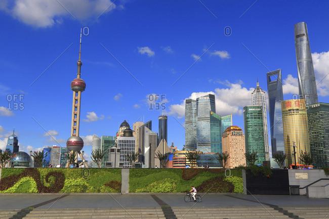 August 8, 2016: Asia, China, Shanghai.
