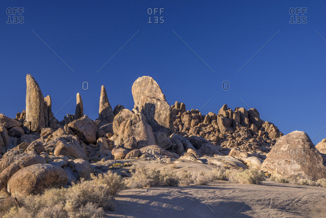 USA, California, Lone Pine,  Alabama Hills