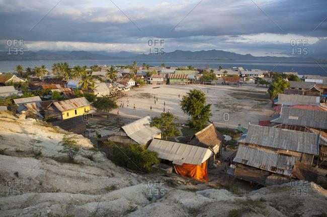 June 10, 2010: Island of Pulau Messah, Flores, Indonesia