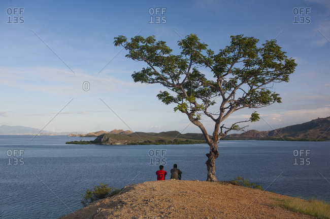 Pulau Messah and Islands of Komodo National Park, Flores Sea, Indonesia