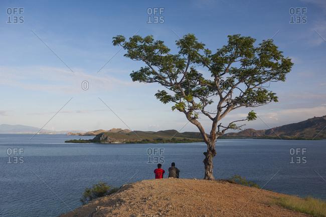 Pulau Messah and Islands of Komodo National Park, Flores Sea, Indonesia
