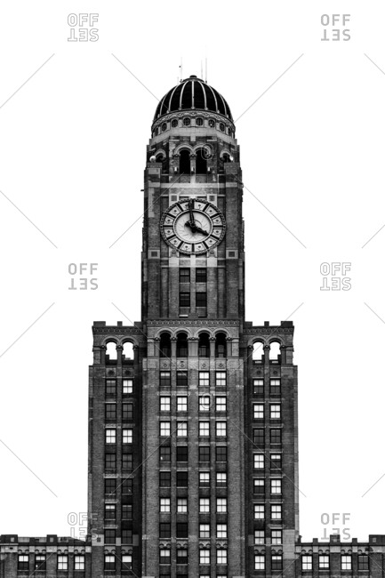 Brooklyn, NY, USA - May 21, 2016: The Williamsburg Savings Bank Tower, at 1 Hanson Place in Brooklyn