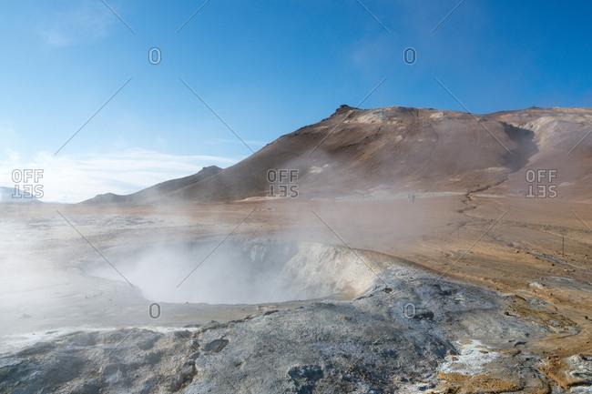 Namafjall geothermal field, Iceland