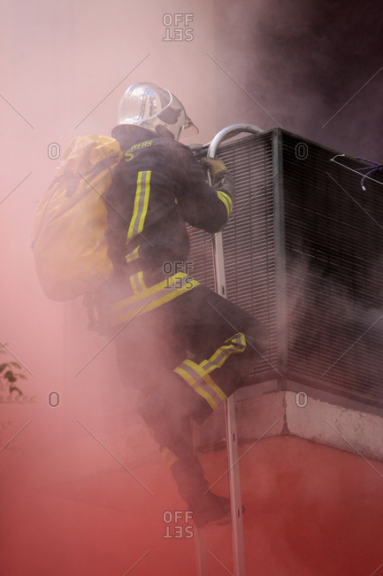 June 30, 2012: Open days for firefighters in Paris, France