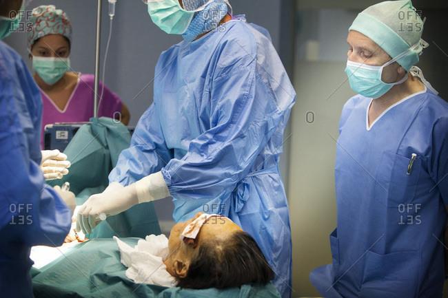 September 9, 2014: Cardiac surgery, Chain of Hope, Fann hospital, Dakar, Senegal