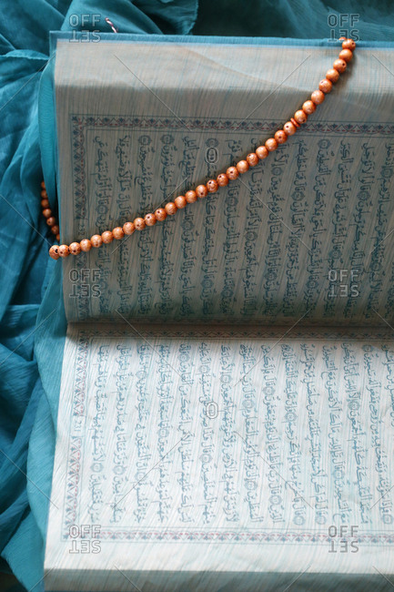 September 14, 2015: Veiled Kuran and Prayer Beads