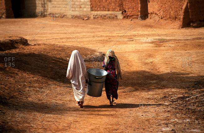 Woman Tuareg African