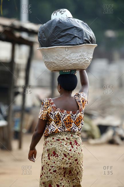 Head African Woman
