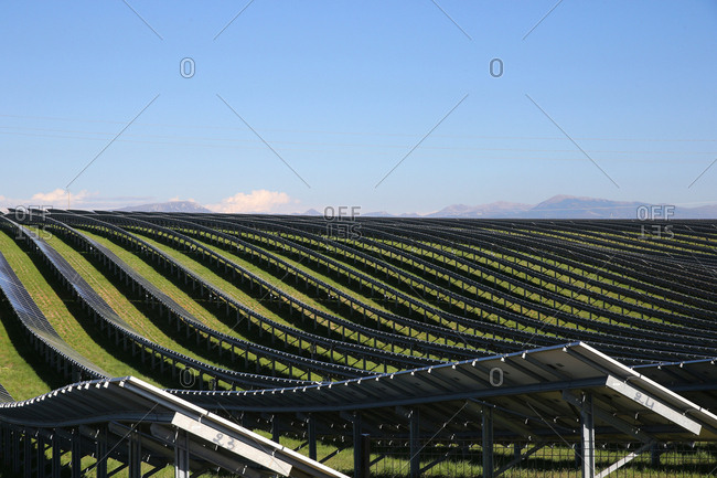 Photovoltaic Array Power Plant Environment