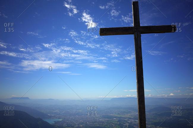 Parmelan Cross 1832 M  French Alps
