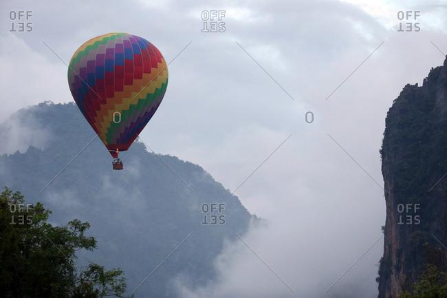 Hot Air Balloon Air Transportation