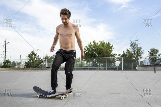 Man Stomps His Skateboard And Breaks It In Half